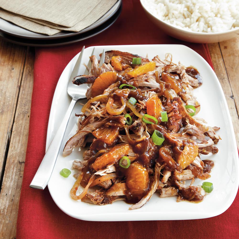 Sweet and Spicy Satsuma Turkey