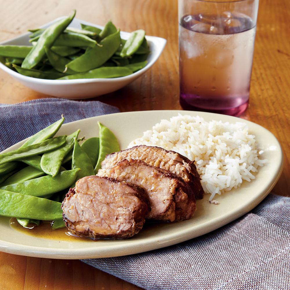 Plum Pork TenderloinRecipe