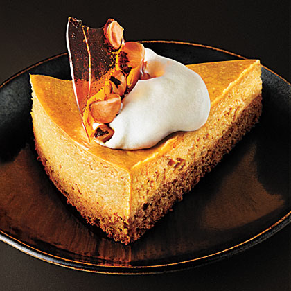 Pumpkin-Hazelnut CheesecakeRecipe