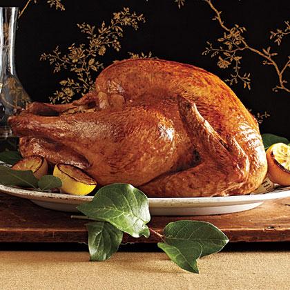 Roast Turkey with Sage Pan Gravy