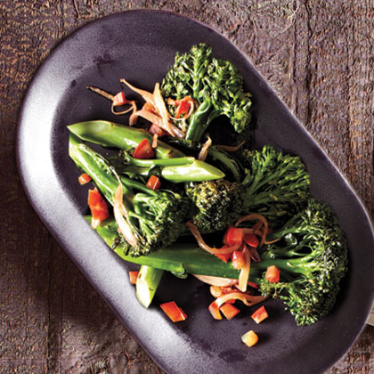 Sautéed Broccolini with Tomatoes