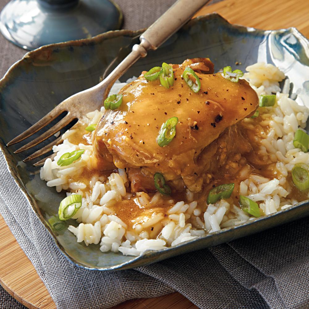 Sweet Glazed Chicken Thighs Recipe