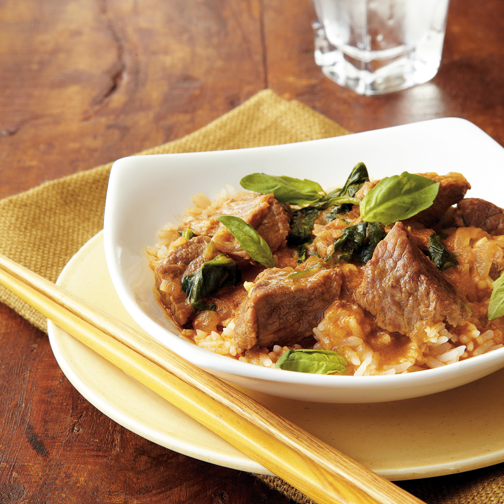 Thai Red Curry Beef Recipe | MyRecipes