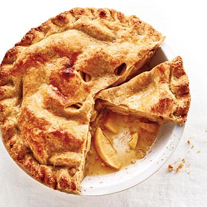 Walnut-Crusted Apple Pie