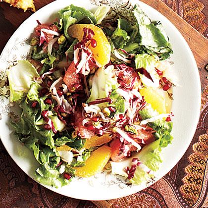 Winter Citrus, Escarole, and Endive Salad