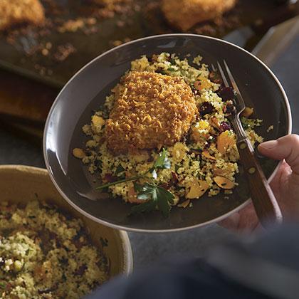 Kraft: Smokey Mesquite Pork Chops with Couscous Salad Recipe