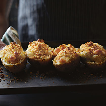 Twice-Baked Cheesy Potatoes