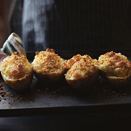 Twice-Baked Cheesy Potatoes