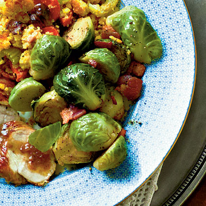 Brussels Sprouts with Applewood Bacon Recipe