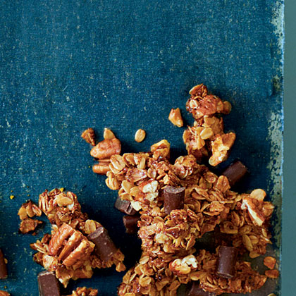 Chocolate-Pecan Pie Granola