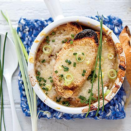 Five-Onion Soup Recipe