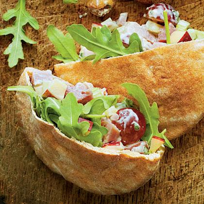 Ham Waldorf Salad