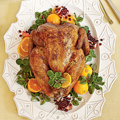 Herb-Brined Creole Turkey