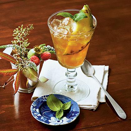 Pineapple-Basil Tea