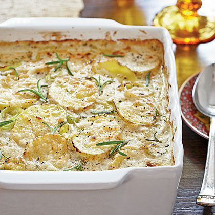 Potato-Leek Gratin Recipe