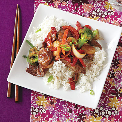 Asian Ginger Beef Recipe
