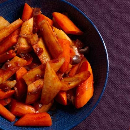 <p>Braised Carrots and Parsnips</p>
