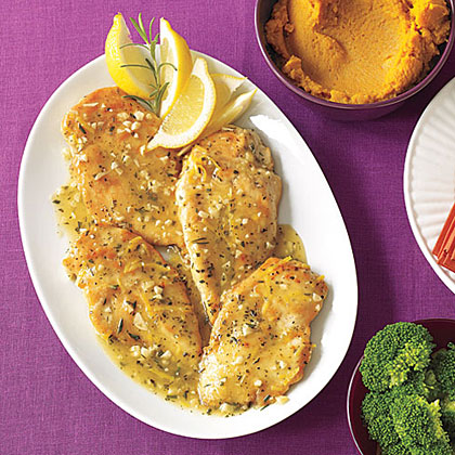 Garlic Chicken with Rosemary Recipe