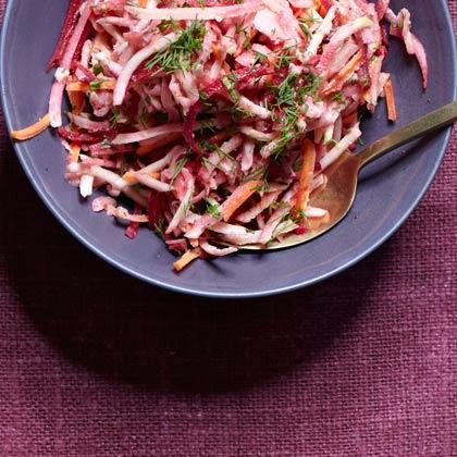 <p>Shredded Root Salad</p>