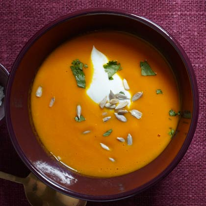 <p>Sweet Carrot Soup</p>