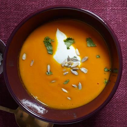 <p>Sweet Carrot Soup</p>