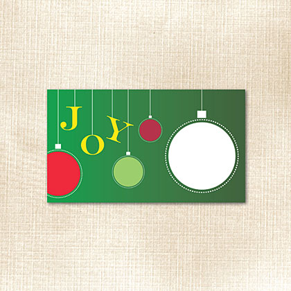 Ornament Joy Place Card