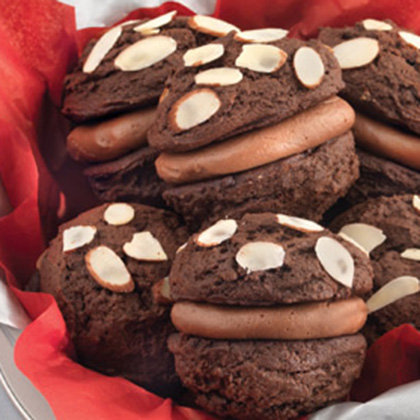 Chocolate Hazelnut Whoopie Pie