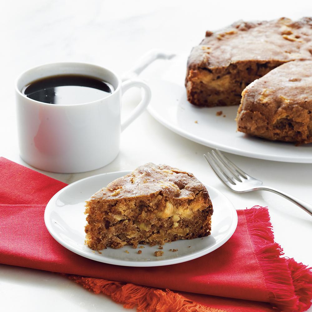 Double Apple Cake Recipe
