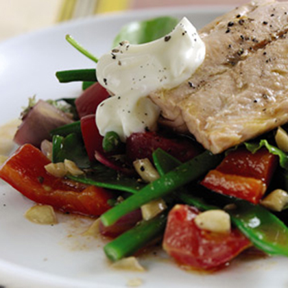 Haricots Verts Salmon Salad