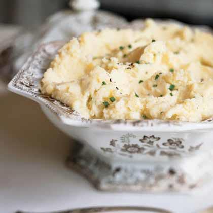 Camembert Mashed Potatoes