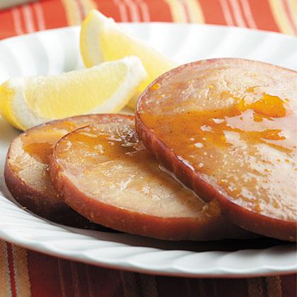 Apricot-Glazed Baked Ham