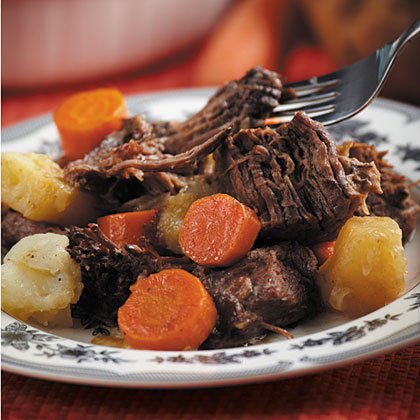 The Best Pot Roast Ever Recipe Myrecipes