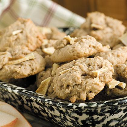 Brown Sugar-Apple Cookies