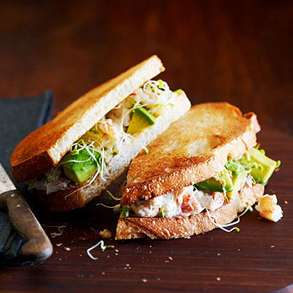 California Crab Sandwich Recipe