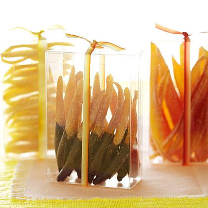 Candied Citrus Peels Recipe