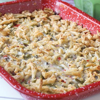 Chicken & Green Bean Bake