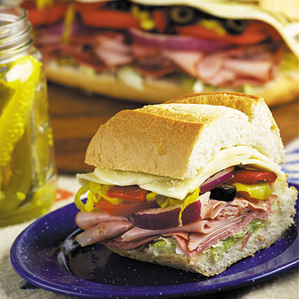 Colossal Hero Sandwich