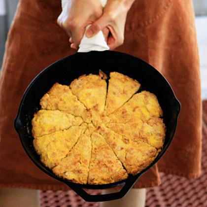 Cornmeal-Crusted Buttermilk Biscuits Recipe