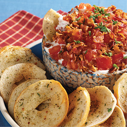 Creamy BLT Dip RecipeYour favorite simple sandwich is now a simple, 5-ingredient dip. Try this Creamy BLT Dip for an easy appetizer at your next football gathering.