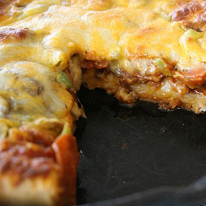 Deep-Dish Skillet Pizza