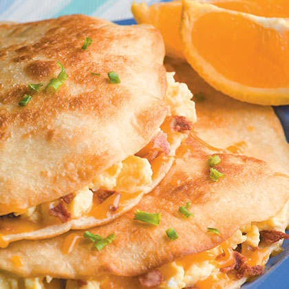 Egg and Bacon Quesadillas