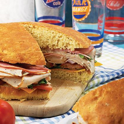 Giant Stuffed Sandwich