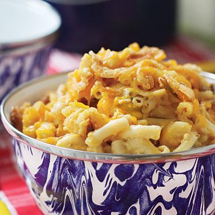 Golden Macaroni & Cheese
