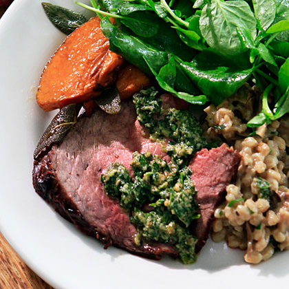 Grass-Fed Top Round Roast Recipe