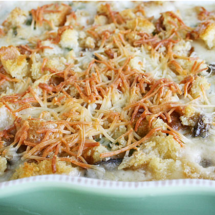 Green Bean and Wild Mushroom Casserole