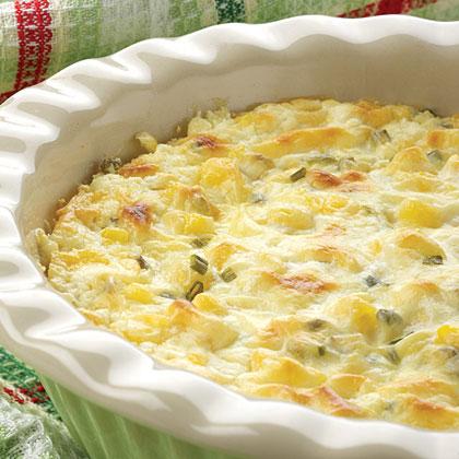 Herbed Corn Bake Recipe