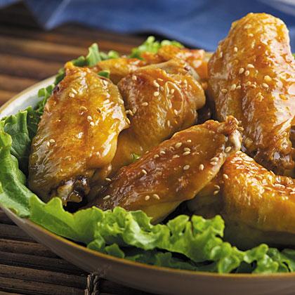 Honey Sesame Wings