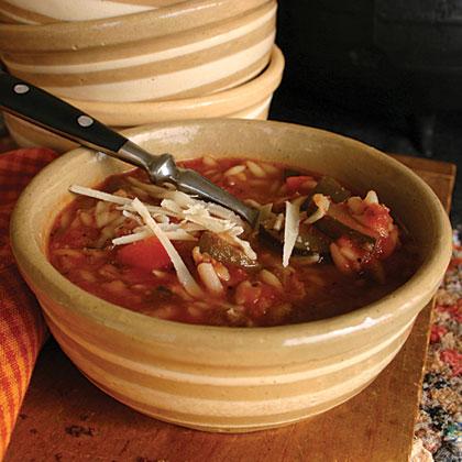 Italian Sausage & Vegetable Soup