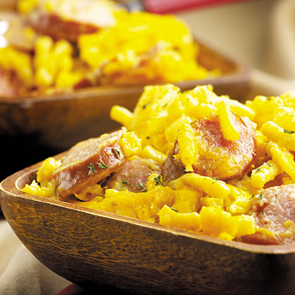 Kielbasa Mac and Cheese
