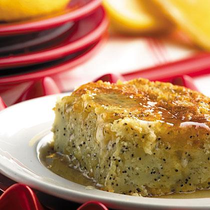 Lemon-Poppy Seed Cake